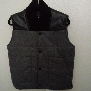 Diamond supply Grey & Black wool Vest